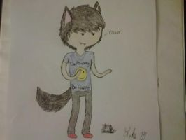 Furry me (Adventure time style) by LilithTheButt