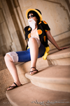 Easygoing | Monkey D. Luffy | Dressrosa | VIII by Wings-chan