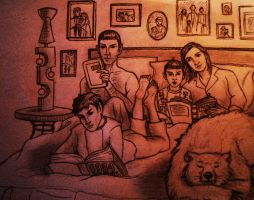 Family Morning by philotic-net