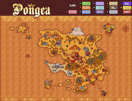 Pokemon Mystery Dungeon 2 Map by shadixART