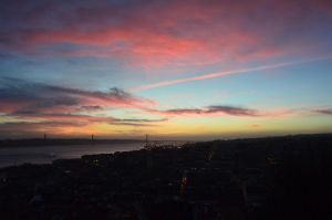 Lisbon sunset by PatriciaSusana