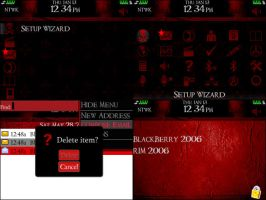 Red for Blackberry 8300 Curve by xRollinx