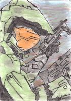 Master Chief, Halo 2 by tmgun