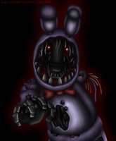 Withered Bonnie by Kana-The-Drifter