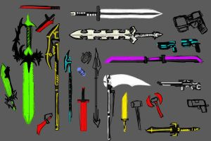 weapons Tron related by cmdrFaust