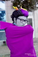 Eridan Ampora cosplay - caped badass by Dead-Batter