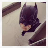 The Dark Knight WIP by smlshin