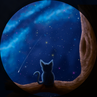 Cat galaxy by DriftToMe