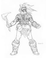 ItR Character - Barbarian by JerMohler