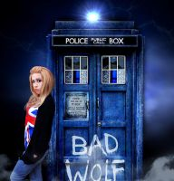 Rose Tyler Doctor Who Cosplay by CherrySteam