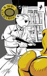 cover art of the Demzing Ted.E.Bear Crisis by thesteelavenger