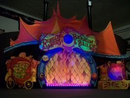 Ringling Brothers Dragon's Stage by pink12301