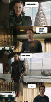 Avengers : Loki vs Stark - We have a... (SPOILER!) by yourparodies
