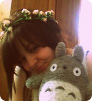 Me and Totoro by KisforKatieRose