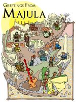 DS2 - Greetings From Majula Map by jdeberge
