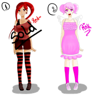 Adoptables - Red and Pink CLOSED by Arisa-desu