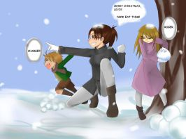 Hanji and Kids by invisible-16