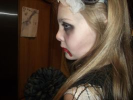 Halloween Make up by SynthesteticFlame