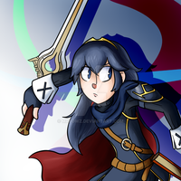 A Lucina thingie by MrBowz