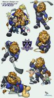 L.A Kings: B a i l e y by thekidKaos