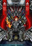 The Renegade Queen on the Iridium Throne by ToxicSnakeSkull
