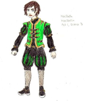 MacBeth Costume Design 2 by AdmiralCookie