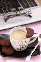 Chocolate cookies by kupenska