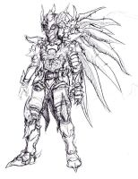 Dragoon Armor Concept by arvalis