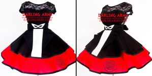Tuxedo Mask Sailor Moon Cosplay Skirt by DarlingArmy