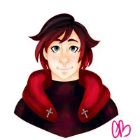 RWBY - Ruby Rose by gravybath