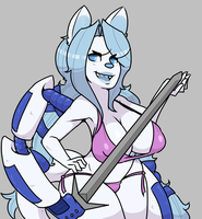 [Swords + Swimsuits] - Chaosie by reaverbots