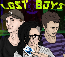 Lost Boys: Title Page by lubrikated