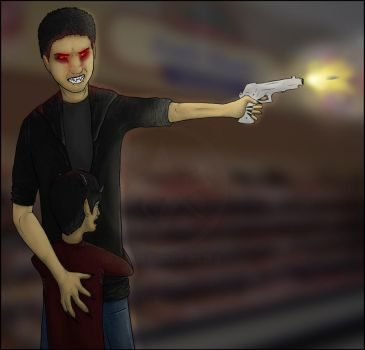 SHOOTIN UP THE WALMART by German-Shepherd-Girl