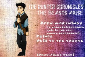 The Hunter Chronicles: Apen Worthings by Gruvu