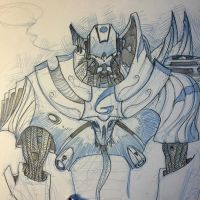 Space Knight sketches... by Axel13-Gallery