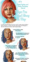 Blue Eyes - Tutorial by clz