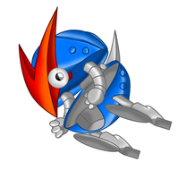Roller from Sonic 1 by TokeiTime