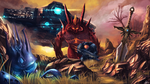Heroes of the storm competition: Bait Raynor. by Azagth