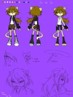 Reference: Isa the Cat by Istar-Zodiac
