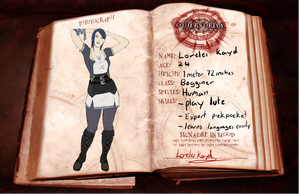 Other worlde Application: Lorelei Kayd by NellyMonster