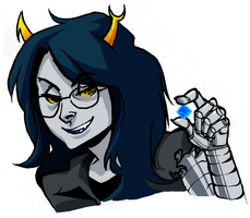Vriska you so sexy by Doodle-Master