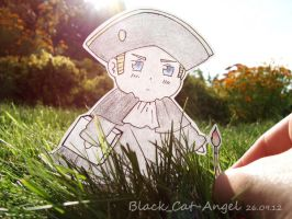 Paper Child Holy Roman Empire by Black-Cat-Angel