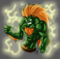 Blanka SF by Scribbletati