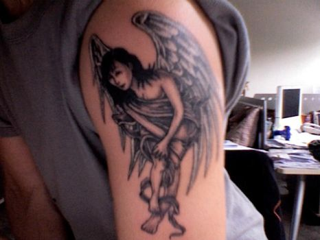 a lil' angel on my shoulder by nodee03