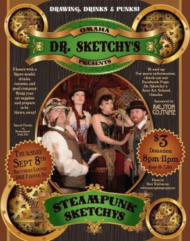 Steampunk Sketchy's Poster by LaMasqueDuMinet