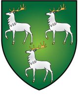 Jesus College Oxford Coat of Arms by ChevronTango
