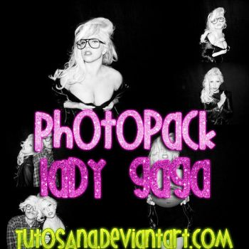 Photopack Lady Gaga N.6 by TutosAna