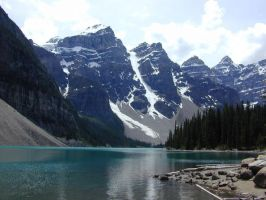 Lake Moraine by purrsia2000