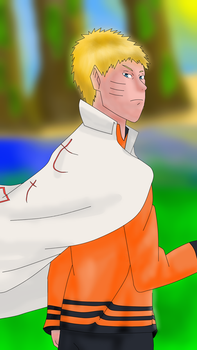 Naruto Adult - Fanart. by SpeedArtSA
