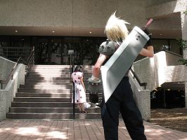 Cloud Strife again by vanluurea